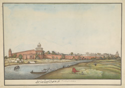 View of the Red Fort, Delhi